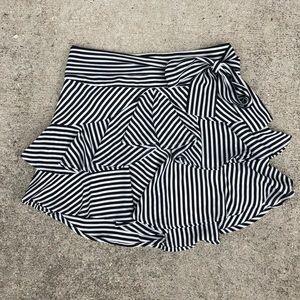 Express Striped Skirt